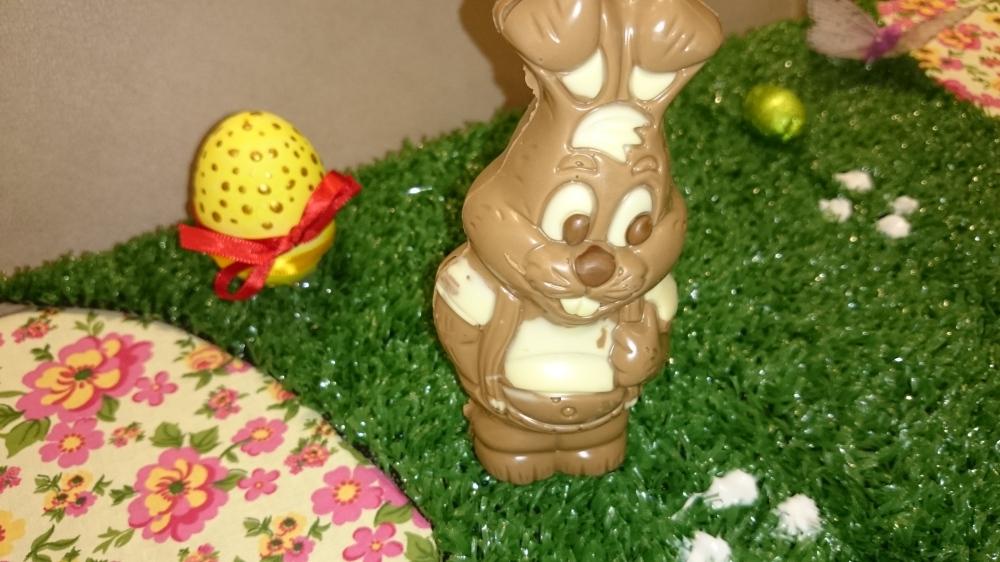 coelho de chocolate 2