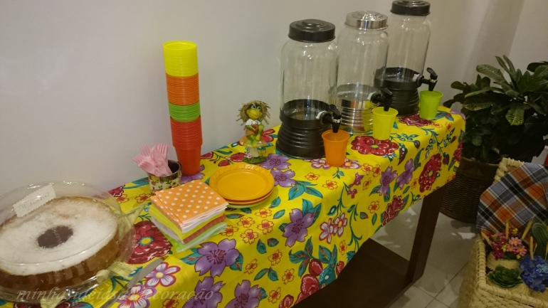 mesa das bebidas
