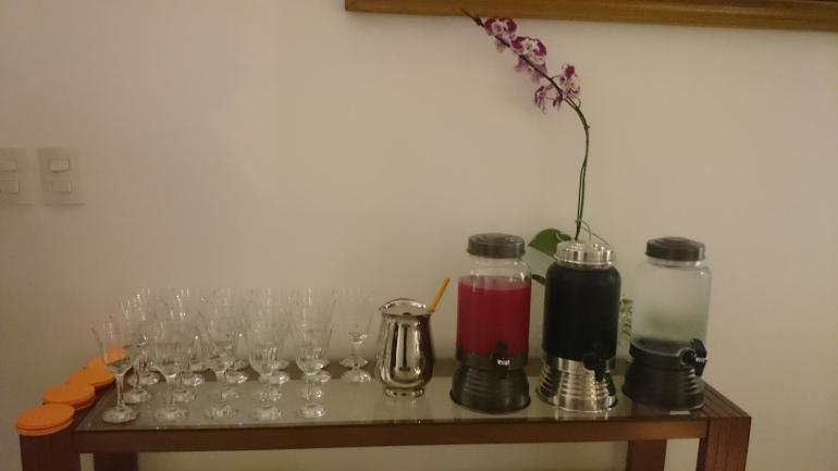 aparador bebidas