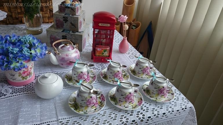 parte do chá