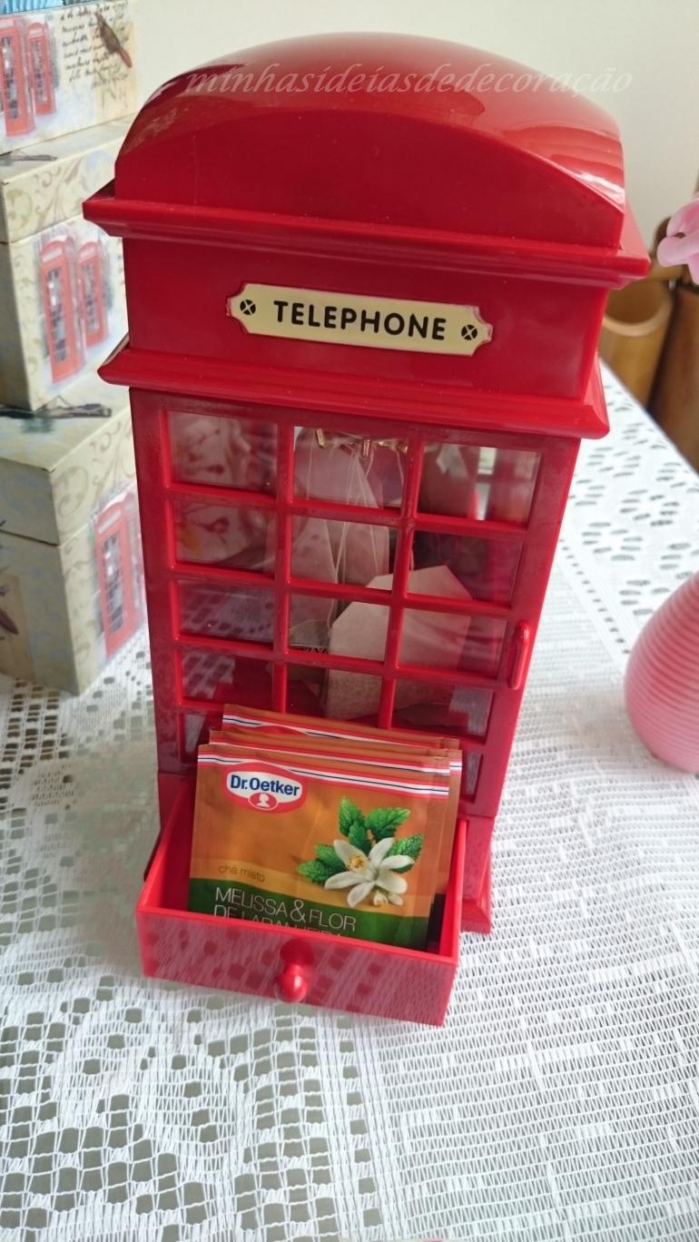 telefone com chá