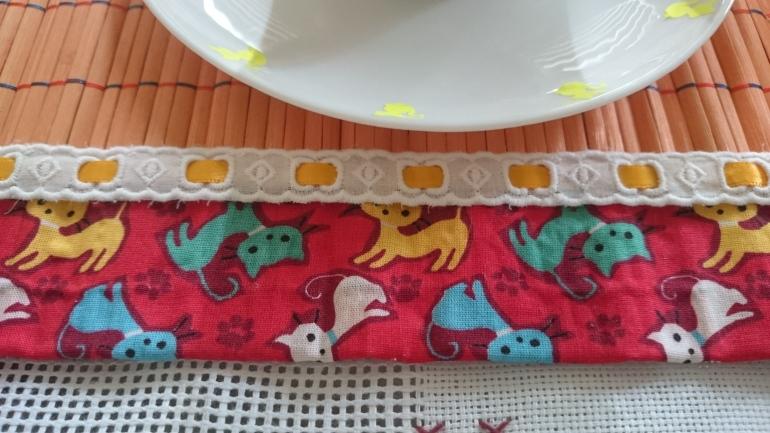 tecido gato