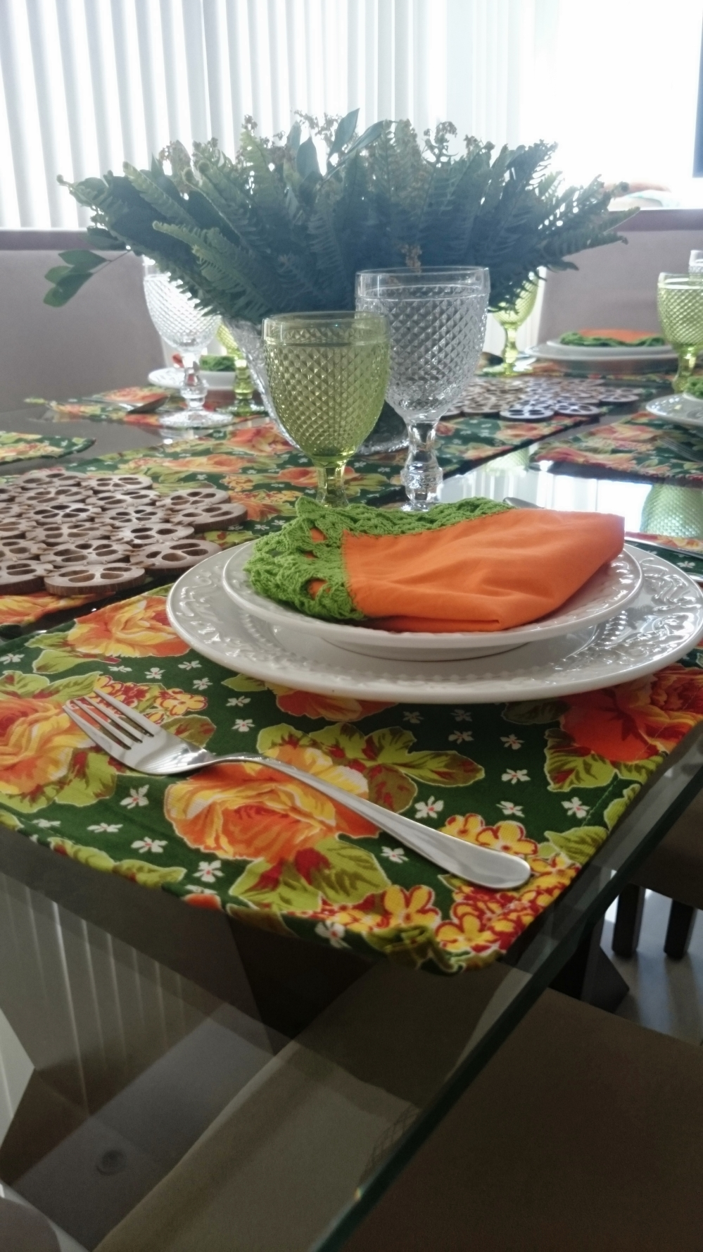 mesa colorida